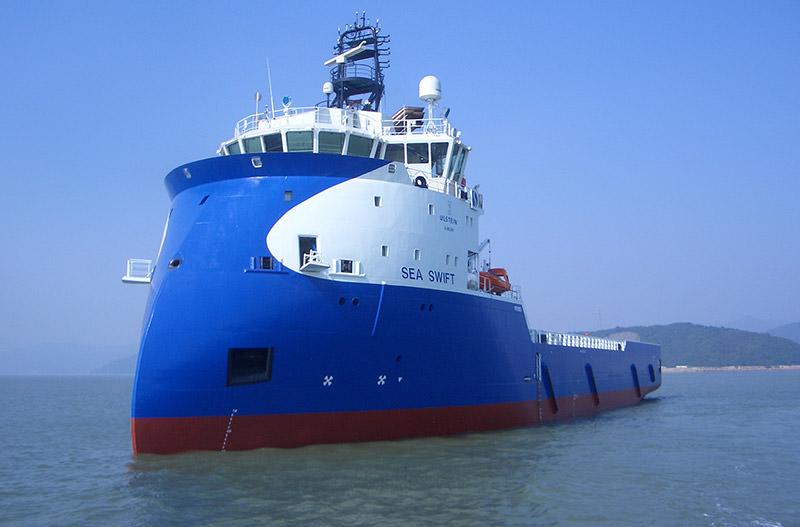 AOS PSV Sea Swift PX105 vessel charter