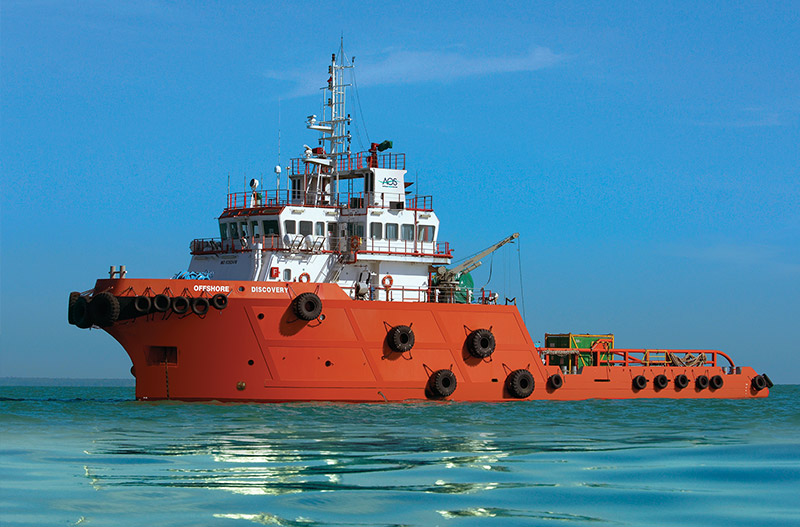 AOS vessel Offshore Discovery
