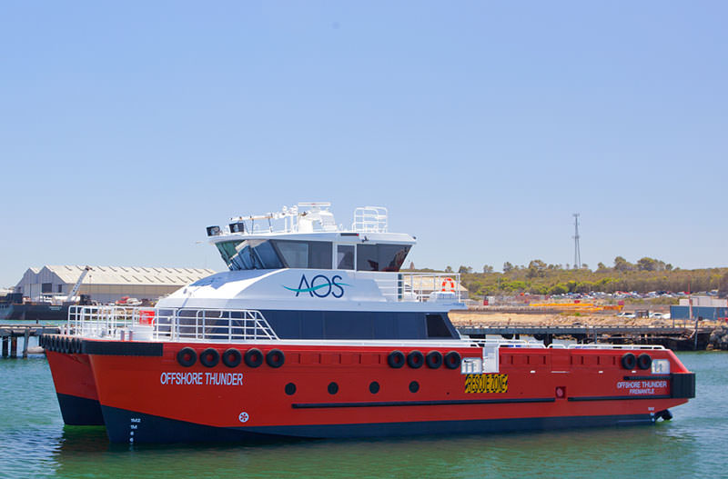 AOS crew transfer vessel Offshore Thunder