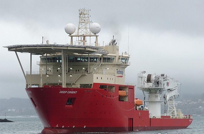 AOS manning Technip Deep Orient